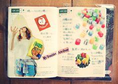 ほぼ日手帳 hobonichi 2013年6月