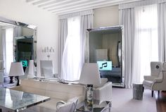 Palazzina G, interiors designed by Philippe Starck, Venezia, Italy