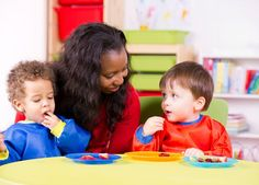 Day Care Doesn't Encourage Weight Gain in Kids