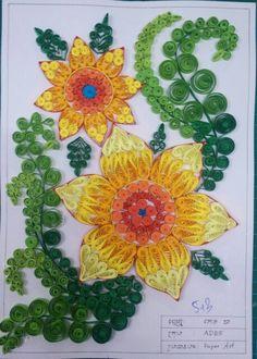 Paper art khmer designer at setec institute