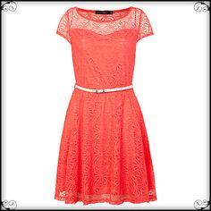 Vestido Coral $229.90 http://fiveb.lu/vst-rndcrl