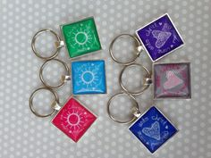 Come Unto Christ YW Theme 2014 keychains by AlliCaps on Etsy