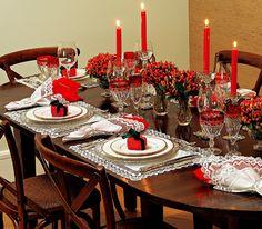 Decoração da mesa de natal: 25 ideias para você se inspirar - Casa&Festa