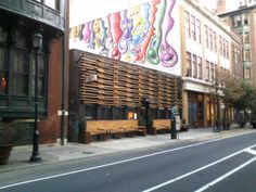 beautiful all wood front to the Sampan Restaurant in Philadelphia, PA  http://sampanphilly.com/