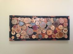 Wood slice art