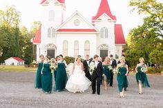 The Wedding Party Form Our Romantic Southern Wedding in South Carolina. Teal Bridesmaid Dresses, Bridesmaid Gifts, Wedding Dresses, Southern Weddings, Romantic Weddings, Wedding Color Schemes, Wedding Colors, Ben And Lauren, Wedding Invitation Cards