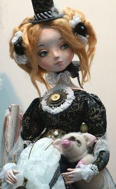 """Международная выставка кукол """"Art of Doll"""" в Гостином дворе. 12.12.2015. Автор: Анна Фадеева"""