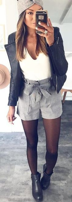 Preppy Outfit Ideas To Wear This Winter La meufe a la mode Adrette Outfits, Short Outfits, Spring Outfits, Casual Outfits, Fashion Outfits, Winter Outfits, Dress Winter, Outfit Summer, Winter Tights