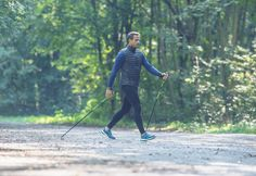 Condition Physique, Nordic Walking, Cross Training, South Africa, Silhouette, Exercise, France, Fitness, Sports