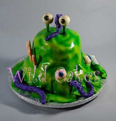 mad science birthday cake by Wild Cakes, via Flickr