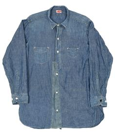 31ec32ae6c5 Sunset Chambray. Vintage Levis JacketWorkwear FashionWork ShirtsDenim ...