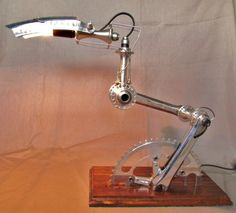 """Recycled Bike part Lamps """"Velolumiere"""" Bike & Friends Lamps & Lights"""