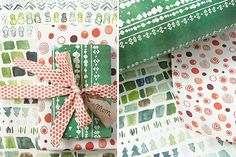the 50 most BEAUTIFUL wrapping papers, they're nice and thick too!!