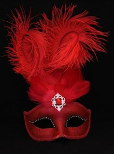 Masquerade Mask Mardi Gras Mask Venetian Mask Royal Blue Rhinestone Crystal