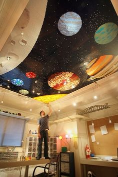 space lego planets and a place for that death star!