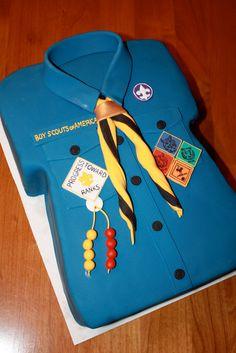 chemise scout et eclaireur - Uniformes scouts, insignes
