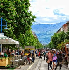 Fabulous. Only European capital city surrounded by mountains