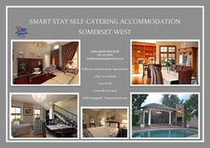 Cape Town - Somerset West 4 star graded accommodation for Doctors & medical staff. DSTV, WiFi & private pools. 5 minutes from Medi Clinic & Busamed hospitals. ++27(0)832859869 / info@smartproperties.co.za Cape Town Accommodation, Luxury Accommodation, Somerset West, All Inclusive Packages, Travel Tourism, Stay The Night, Hospitals, Luxury Apartments, Private Pool