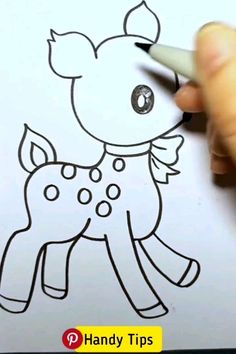 Easy Drawings your can teach your kids! Art N Craft, Diy Art, Fabric Painting, Painting & Drawing, Drawing Lessons For Kids, Drawing Techniques, Creative Crafts, Easy Drawings, Doodle Art