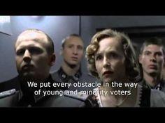 November 6th: Hitler Finds Out Obama Won Re-election