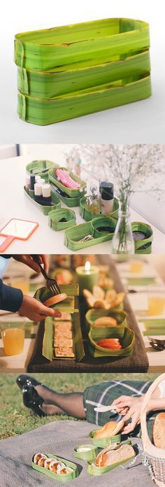 Adorable! Store and hold all kinds of things like your office stationery, bathroom products, snacks, and so much more! This light leaf tray is quite visually realistic that many would think it's made of real banana leaf!