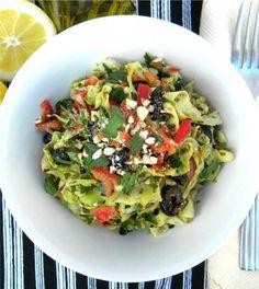 Addicted To Raw: Handmade Zucchini Ribbon Raw Recipe