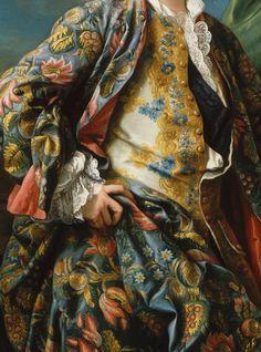 Charles-André Van Loo, Portrait de Jacques-Germain Soufflot (detail)