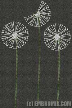 dandelion stitch - Cerca con Google