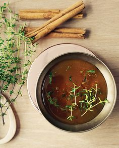 Thyme Honey with Cinnamon - http://www.sweetpaulmag.com/food/thyme-honey-with-cinnamon #sweetpaul