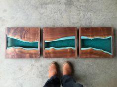 Image of river divided - oregon walnut