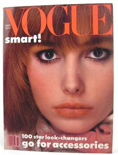 Date of birth favorite cover: Vogue-magazine March 1983 Best Teen Movies, 1980 Cartoons, Vintage Vogue Covers, Vogue Magazine, Most Beautiful Women, Childhood Memories, 1980s, Supermodels, I Am Awesome