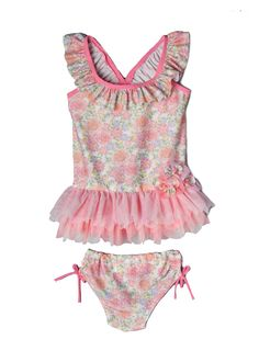 2dba95e7773 Isobella & Chloe Dani Rae Tankini   Shop Swimwear for Baby Girls at  SugarBabies 2 Piece