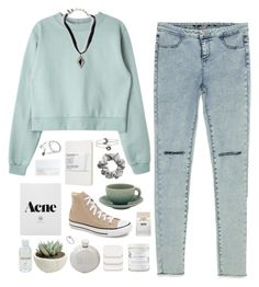 """""""""""Laziness is the mother of all bad habits. But ultimately she is a mother and we should respect her."""" - TOP SET 8/23/15"""" by nandim ❤ liked on Polyvore featuring Converse, Zara, Vanessa Mooney, Jars, Bella Freud, NARS Cosmetics, COVERGIRL, Izola, ASOS and Moleskine"""