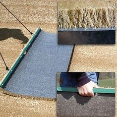 Drag Mats 181321: Cocoa Drag Mats Large 6 X 2 Field Maintenance -> BUY IT NOW ONLY: $264.99 on eBay!