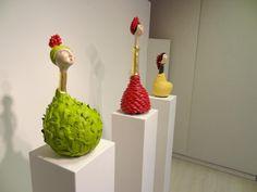 Venezuelan artist Keyla Flachi at rapps Galerie in Switzerland