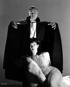 and Louise Allbritton in Son of Dracula. Chanel's character was Count Alucard, Dracula spelled backwards. Classic Monster Movies, Classic Horror Movies, Classic Monsters, Horror Films, Alucard, Lon Chaney Jr, Tv, Look Retro, Famous Monsters