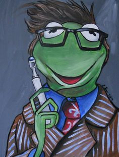 Kermit the Frog 10th Doctor by lisaleems on Etsy