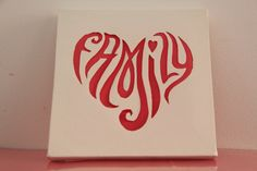 Mais canvas cutting! 12x12 #canvas #canvascutting #heart #artepersonalizada