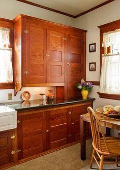 craftsman. amazing cabinets!