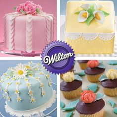 Discover one of the most exciting and satisfying ways to decorate a cake - Wilton Method Course 3: Gum Paste and Fondant. Create amazing handshaped flowers, beautiful borders and bold accents using these easy-to-shape icings. Learn more and find a class near you!