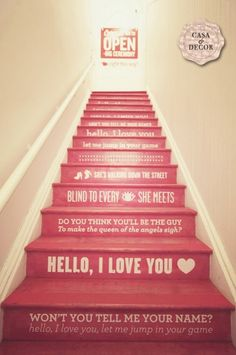 Musical Stairs! I love this.