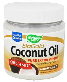 Nature's Way Organic Extra Virgin Coconut Oil for the Hair -   Directions: Melt the coconut, massage into scalp and hair. Leave in overnight and shampoo twice in the morning followed by conditioner.