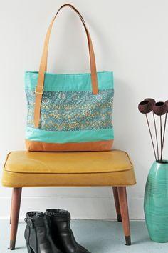 How to make a Modernista tote bag