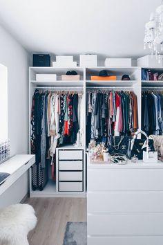 Ikea wardrobe dressing room plan furnish and fashion dressing room ideas walk-in wardrobe ikea pax. Bedroom Closet Design, Master Bedroom Closet, Closet Designs, Diy Bedroom Decor, Ikea Deco, Wardrobe Room, Ikea Closet, Dressing Room Design, Ikea Dressing Room