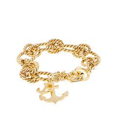 Anchor charm bracelet!