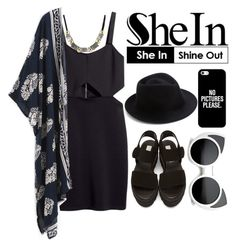 """""""SheIn contest"""" by hungry-unicorn ❤ liked on Polyvore featuring H&M, STELLA McCARTNEY, Eugenia Kim, Casetify, vintage and shein"""