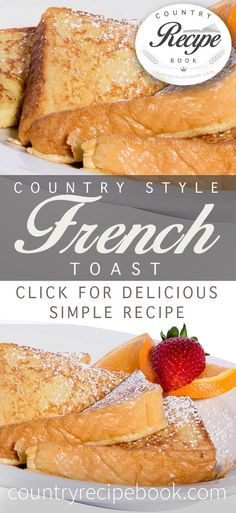 Simple French toast recipe to make classic French toast in minutes!