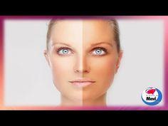 Como aclarar la piel de forma natural - Como blanquear la piel bronceada por el sol - YouTube