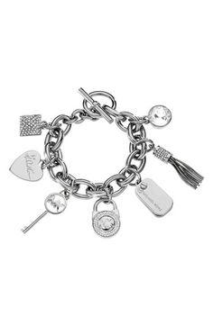 Michael Kors Large Charm Toggle Bracelet