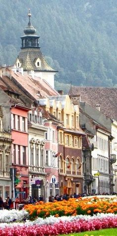 Brasov, Romania Would love to visit Romania- where my dad's family is from.